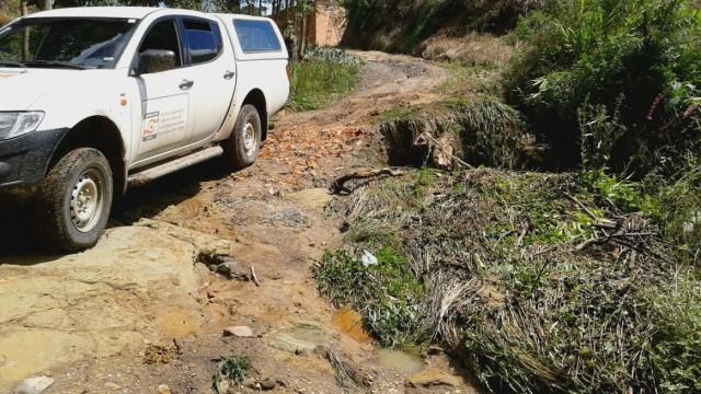 ALFREDO WAGNER - Chuvas provocam estragos em comunidades do município