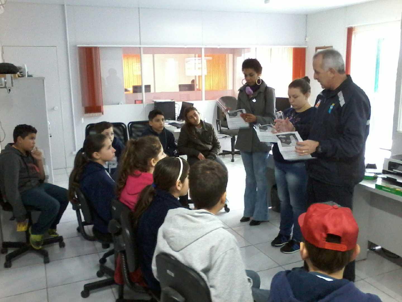 Defesa Civil de Rio do Sul recebe prêmio nacional por desenvolver projeto educacional