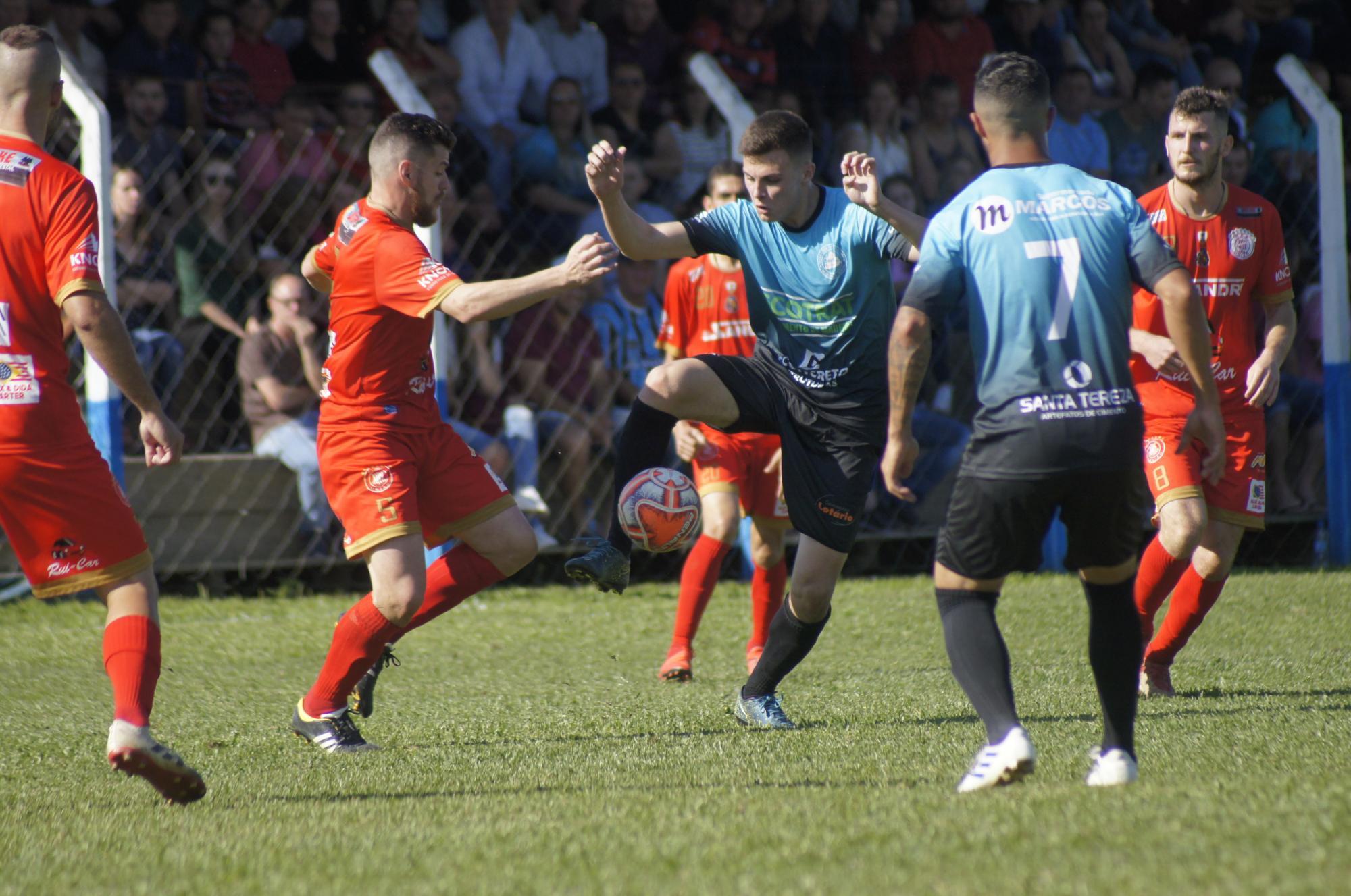 Definidas as quartas de final da Liga Riosulense de Futebol