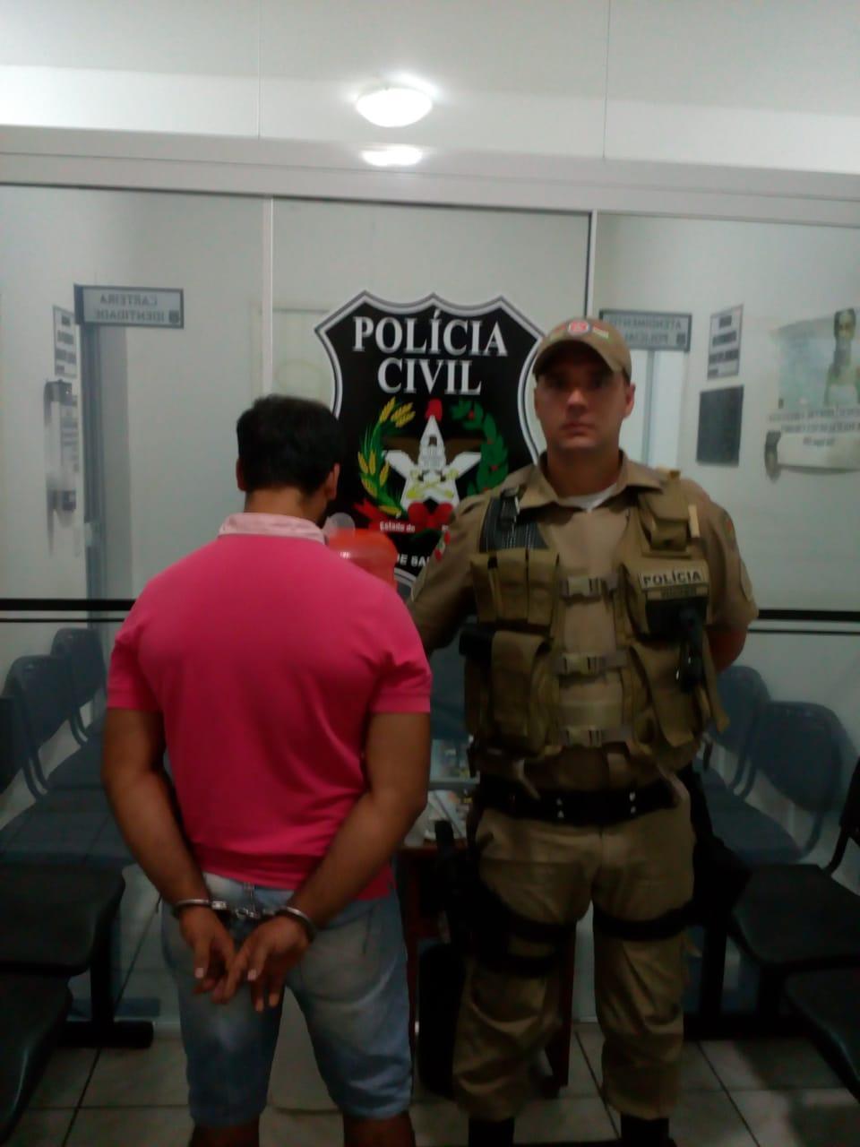 Depois de bater na própria mãe, homem é preso em Alfredo Wagner