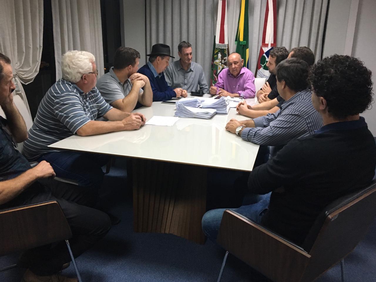 Deputados do MDB se colocam a disposição do prefeito de Ituporanga Gervásio Maciel (PP)