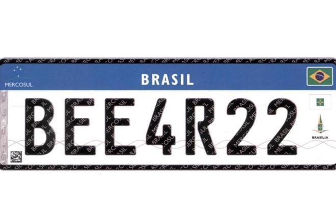Detran prorroga prazo para adoção das placas do Mercosul em Santa Catarina