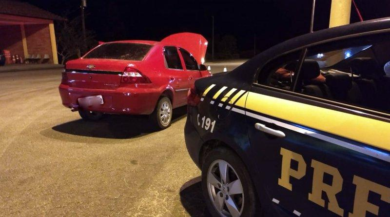 Dois automóveis roubados são recuperados em menos de 12 horas na BR-282 em Rancho Queimado