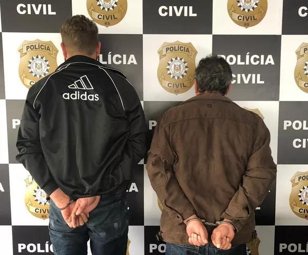Dois catarinenses são presos suspeitos de planejar sequestro de empresários de SP
