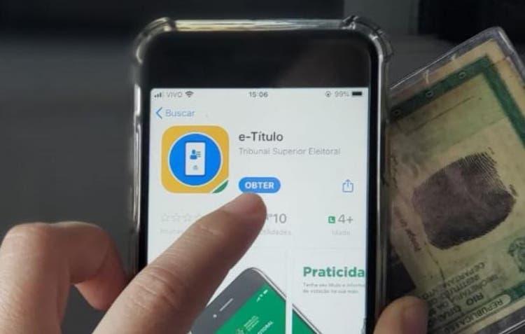 Eleitor poderá justificar voto pelo celular nas eleições 2020 com o e-Título