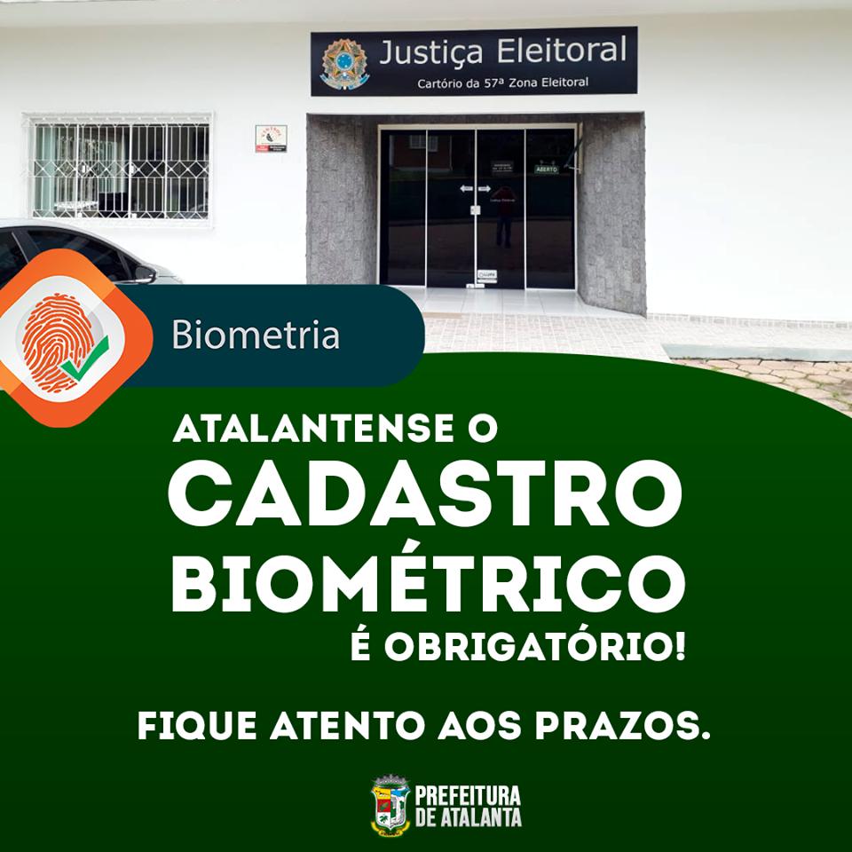 Em Atalanta apenas 37% dos eleitores fizeram o cadastro biométrico; prazo é até dia 28 de junho