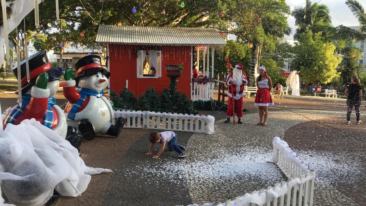 Encerramento do Natal em Ituporanga terá sorteio de brindes e brinquedos infláveis
