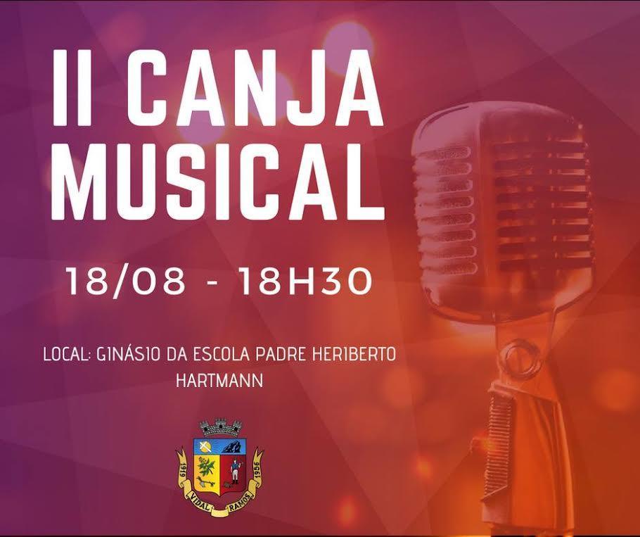 Escola de Música de Vidal Ramos prepara a II Canja Musical