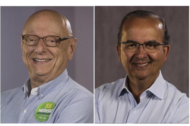 Esperidião Amin (PP) e Jorginho Mello (PR) são eleitos senadores por Santa Catarina