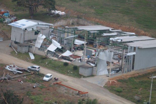 Estado contabiliza prejuízos de R$ 277,8 milhões com ciclone