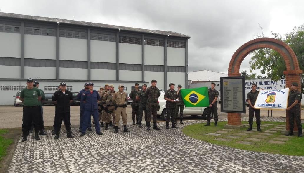 Exército realiza homenagem em Rio do Sul