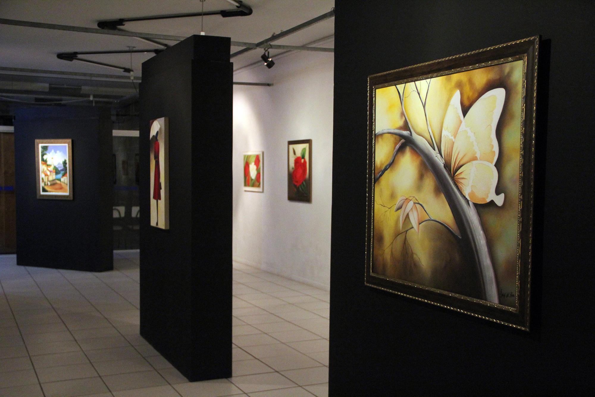 Expovisual apresenta obras dos cursos de Artes Visuais