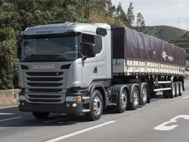 Scania lança cavalo 8x2 para substituir vanderleia e bitrem