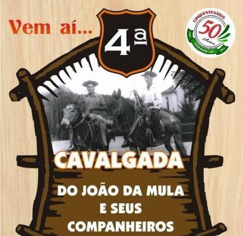 Cavalgada do João da Mula e seus Companheiros em Atalanta será em Setembro