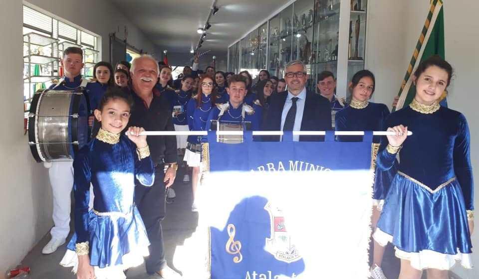 Fanfarra de Atalanta conquista 1º lugar na Copa Alto Vale de Bandas e Fanfarras