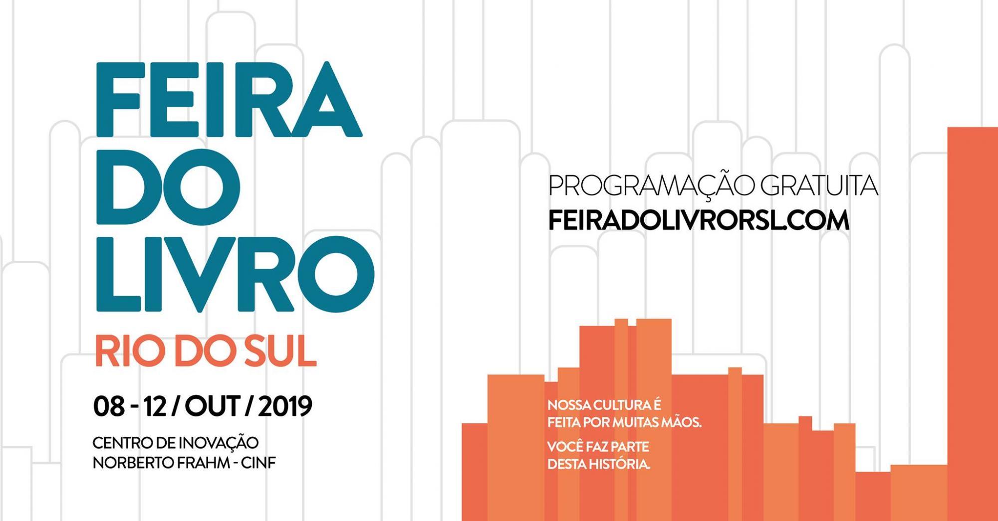 Feira do Livro em Rio do Sul começa nesta terça (08)