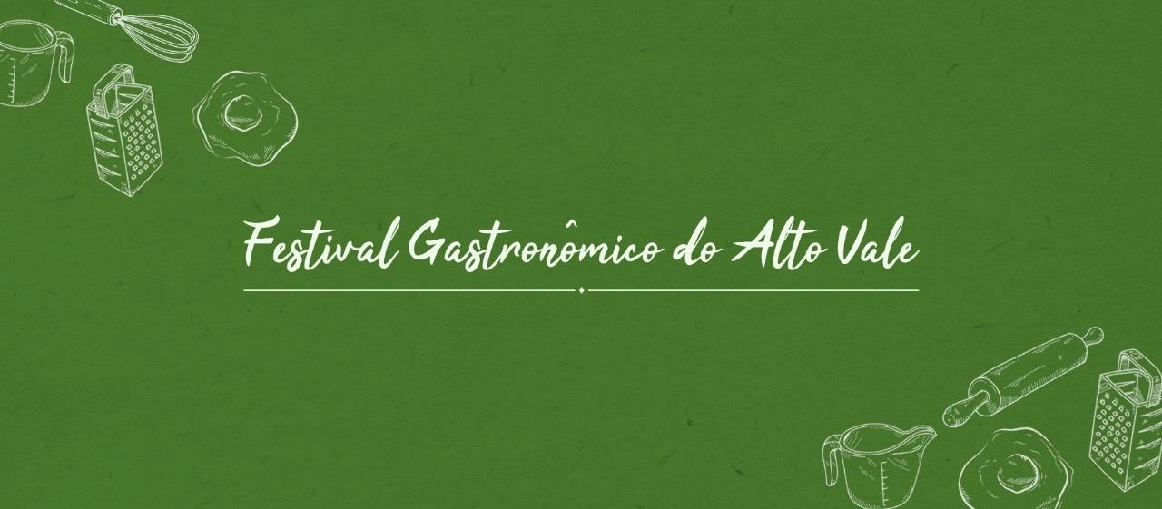 Festival Gastronômico do Alto Vale é adiado para setembro