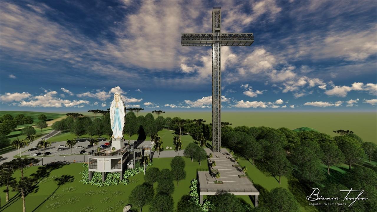 FOTOS: Projeto arquitetônico do Santuário do Louvor em Ituporanga