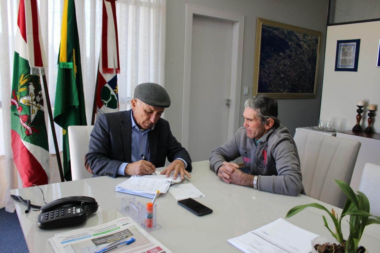 Gervásio Maciel anuncia primeiras ações frente à prefeitura de Ituporanga