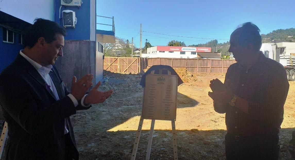Governador de Santa Catarina visita o Alto Vale e cumpre agenda em Rio do Sul
