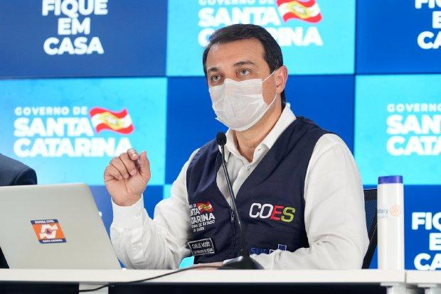 Covid-19: Governo do Estado compra 500 respiradores de empresa catarinense