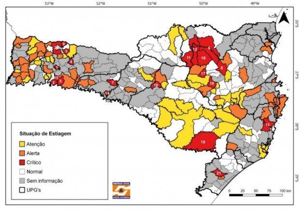 Governo do Estado divulga boletim hídrico e reforça a necessidade do uso racional de água