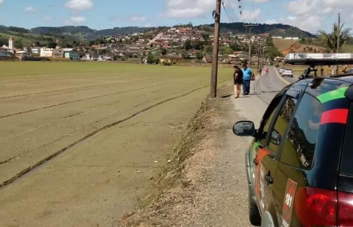 Homem encontrado morto em Rio do Sul teria sido atropelado, diz Polícia Civil