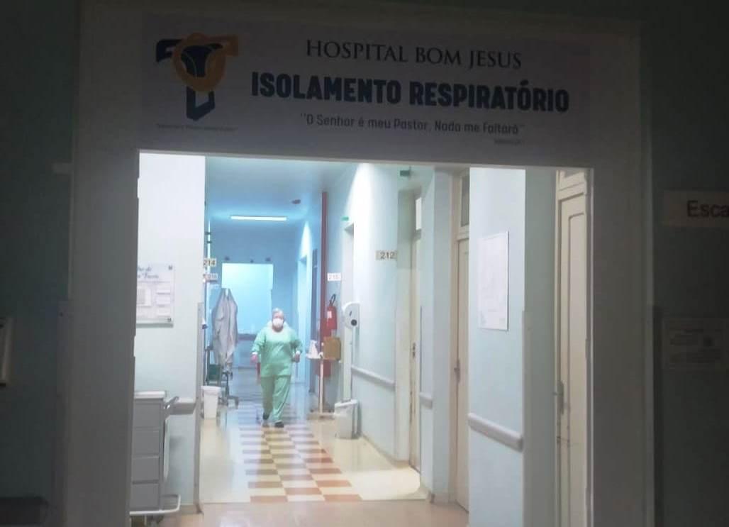 Hospital Bom Jesus segue com toda a capacidade de internação Covid ocupada