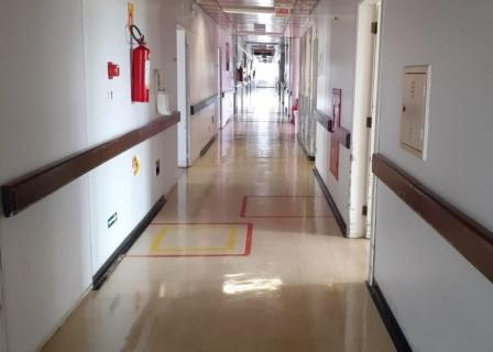 Hospital Regional Alto Vale em Rio do Sul desativa ala de enfermaria para pacientes com Covid-19