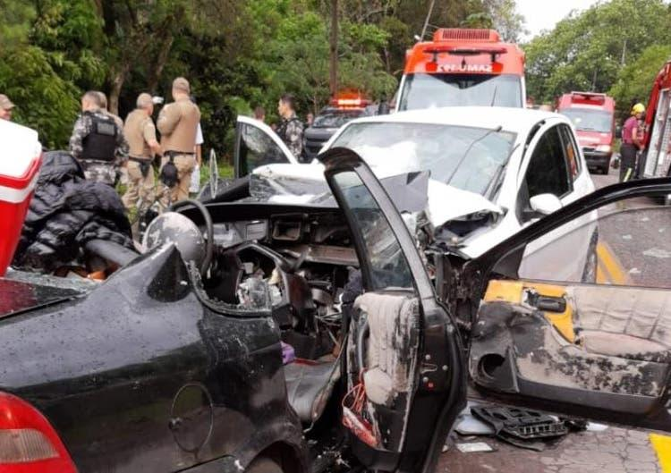 Identificadas todas as 10 vítimas de grave acidente na BR-470, em Apiúna