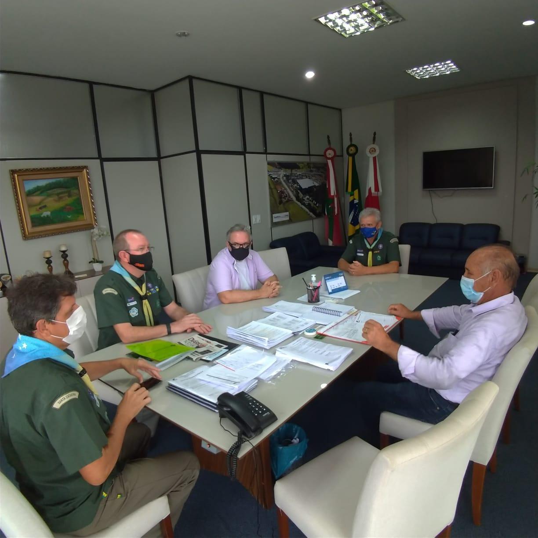Ituporanga deve ser sede nesse ano de 2021 do Acampamento Regional de Lobinhos, do movimento Escoteiro