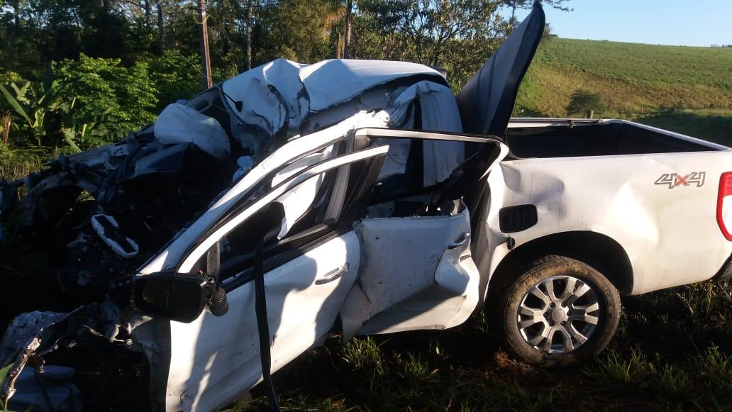 Jovem de 20 anos perde a vida em acidente na BR-470 em Pouso Redondo