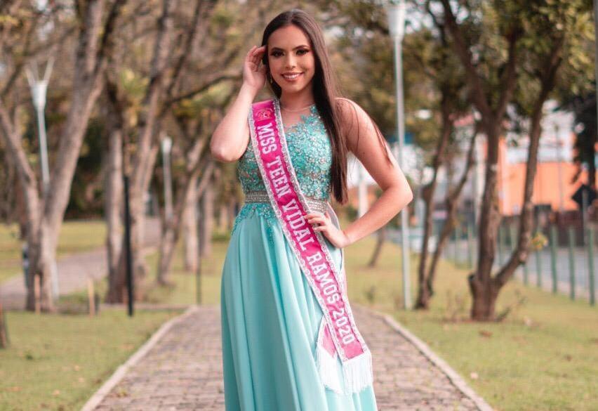 Jovem de Vidal Ramos disputa o Miss Teen Santa Catarina 2020