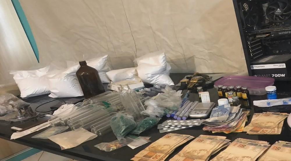 Laboratório que produzia 4 mil comprimidos de ecstasy por hora em SC é fechado pela polícia do DF