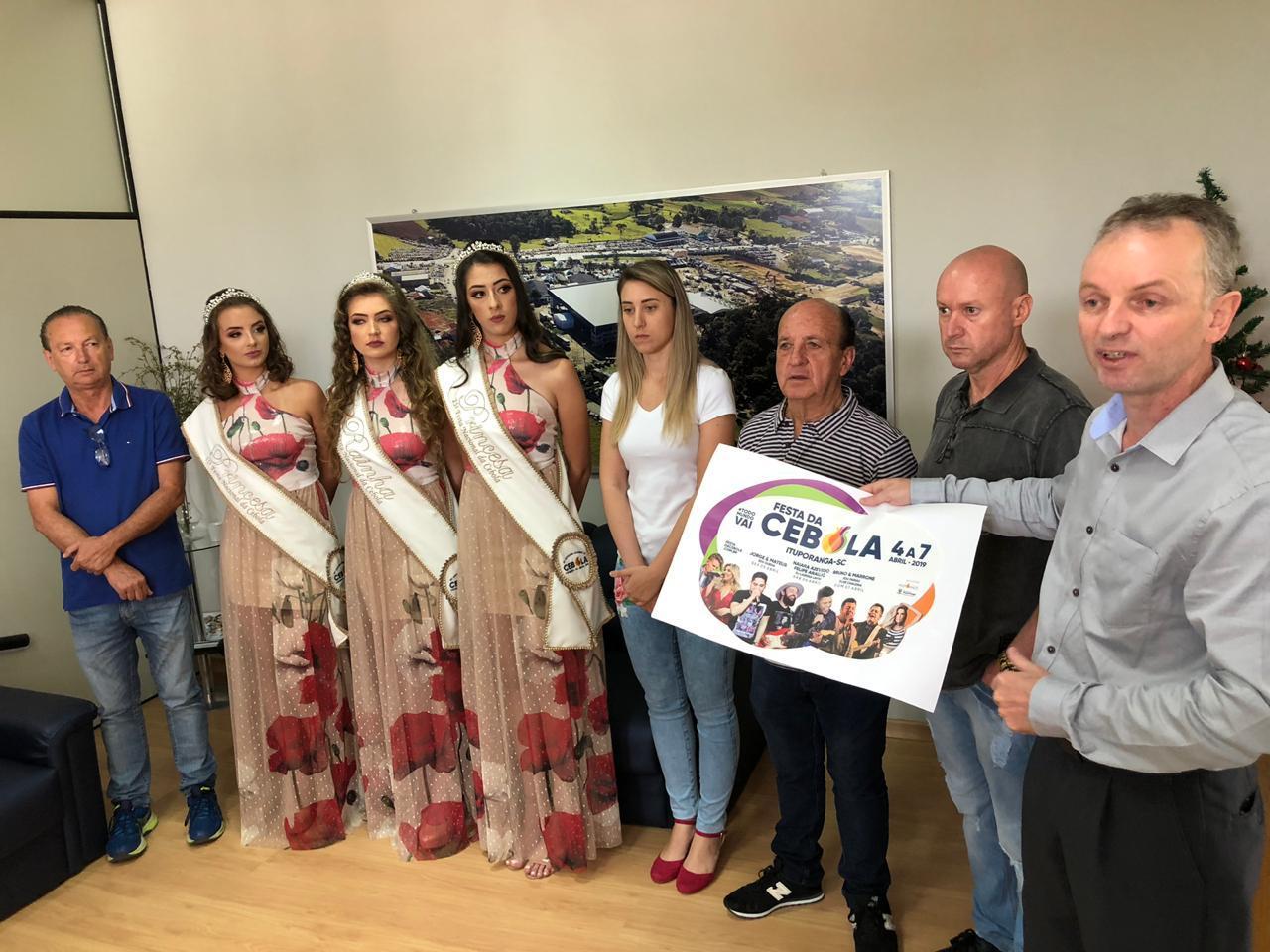 Lançada programação oficial da 25ª Festa da Cebola em Ituporanga