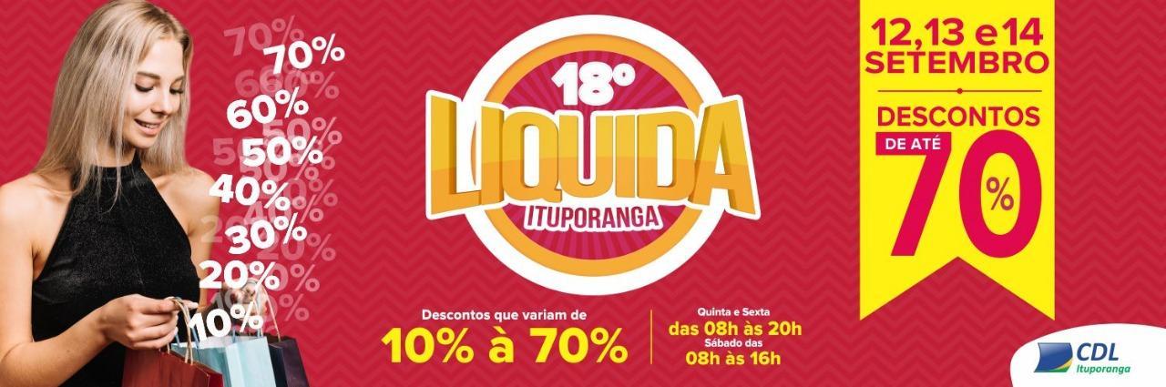 Liquida Ituporanga inicia nesta quinta-feira (12)