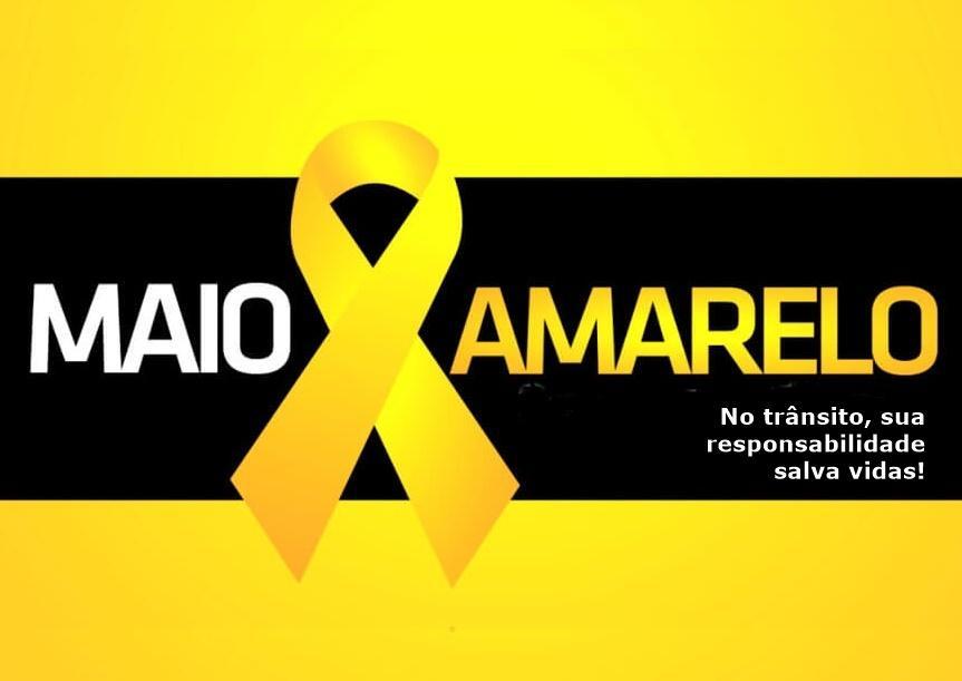 Maio Amarelo: No trânsito, respeito e responsabilidade são necessários para reduzir acidentes