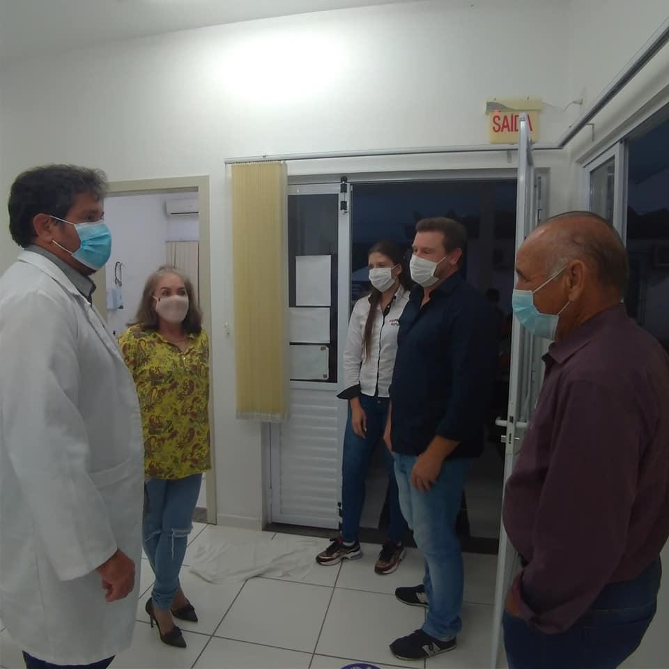 Mais de 20 pessoas atendidas na primeira noite no posto de saúde central em Ituporanga