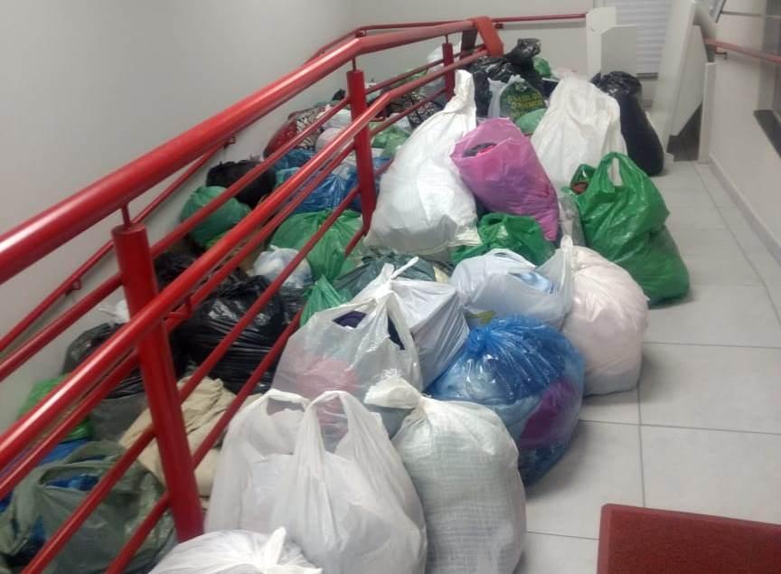 Mais de três toneladas de doações são arrecadadas na Campanha do Agasalho dos Bombeiros de Ituporanga