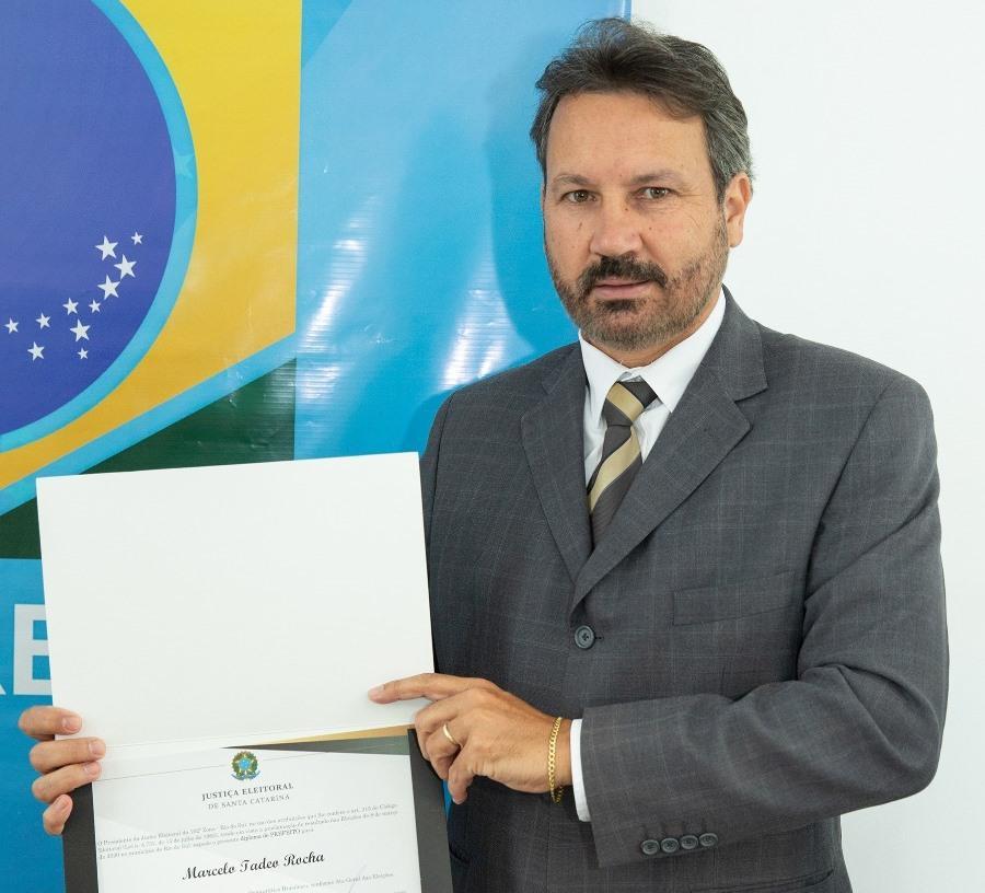 Marcelo Rocha assume administração de Laurentino