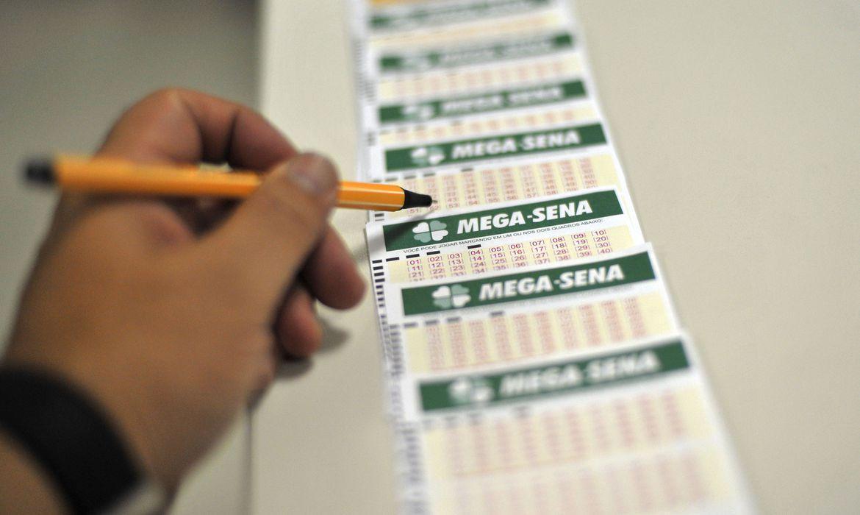Loterias: Mega-Sena sorteia nesta quarta-feira prêmio de R$ 45 milhões