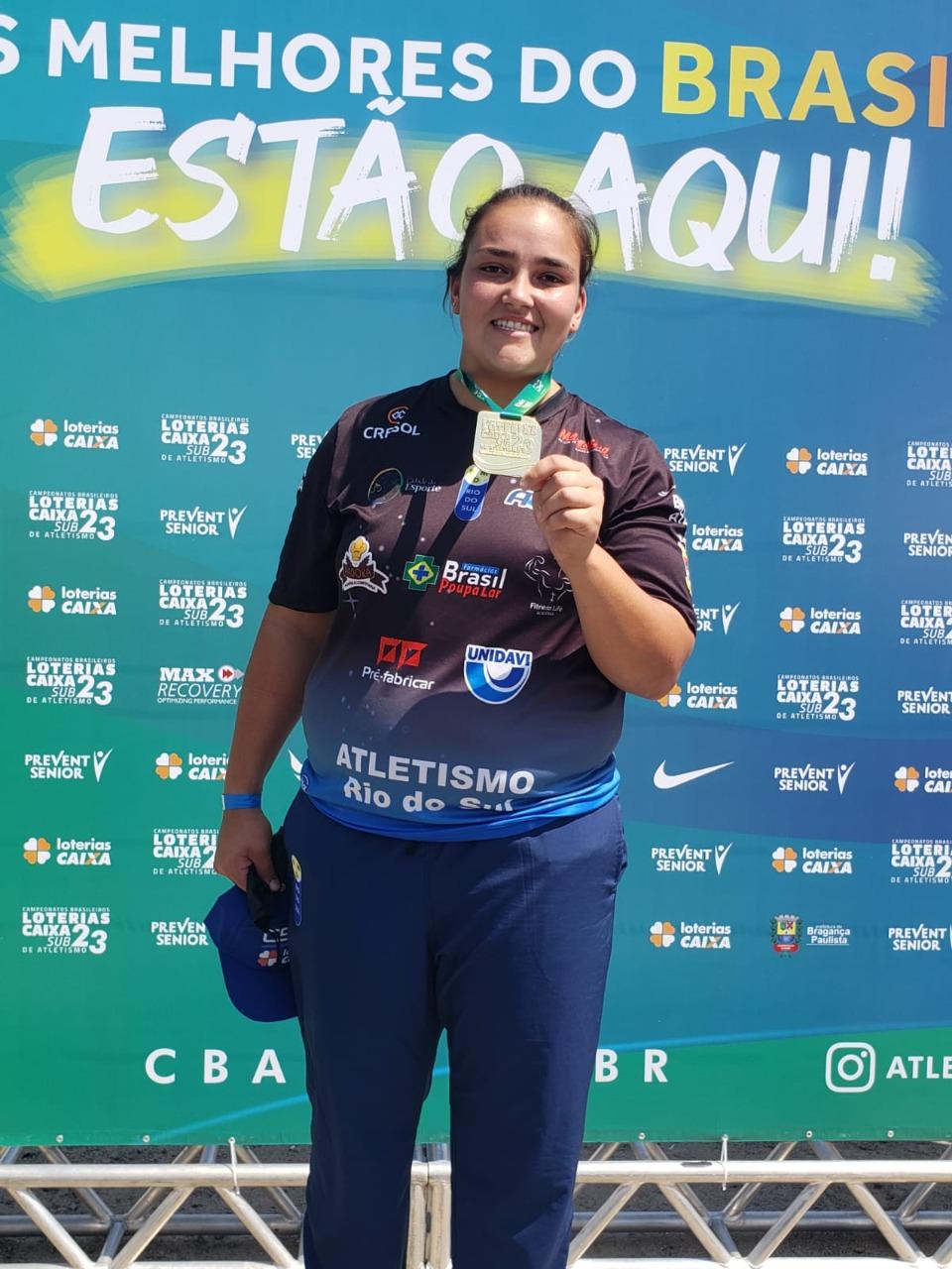 Milena Sens disputa Campeonato Sul-Americano de Atletismo Sub-23