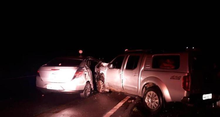 Mulher morre em acidente de trânsito na BR-282, em Alfredo Wagner