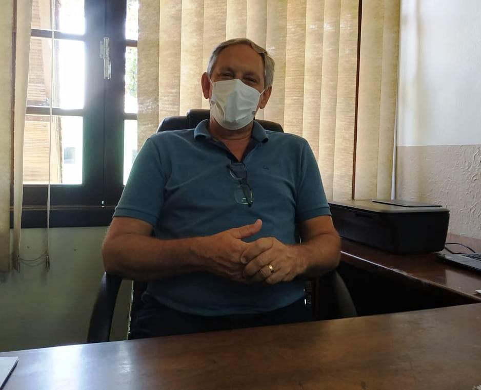Nelson Back ainda faz levantamento de como está a máquina pública em Vidal Ramos