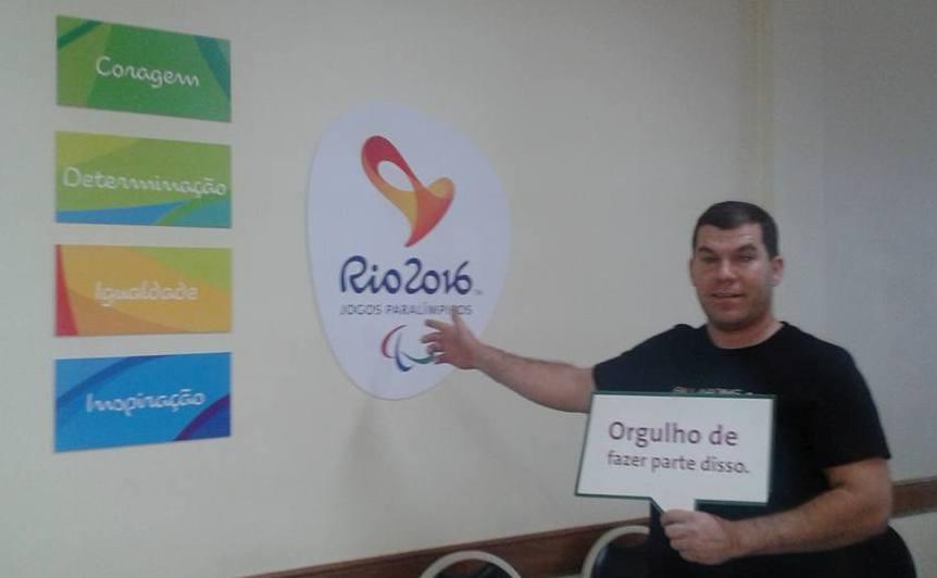 #Rio2016 Ituporanguense será voluntário nas Olimpíadas no Rio de Janeiro