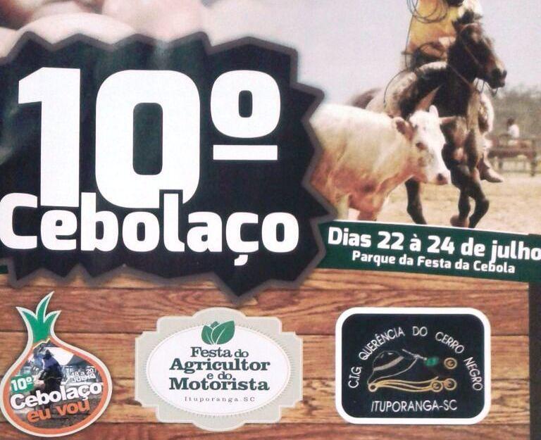 10º Cebolaço promete movimentar Ituporanga neste final de semana