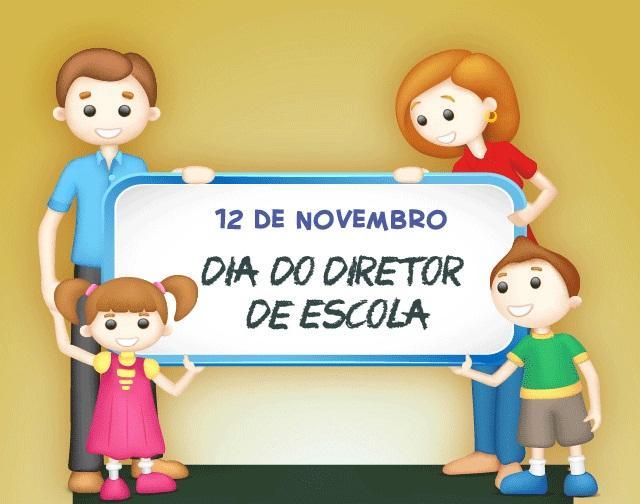 12 de novembro: Dia do Diretor de Escola