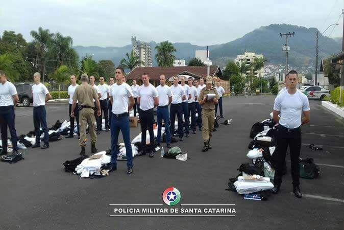 13º Batalhão de Rio do Sul recebe 30 alunos soldados