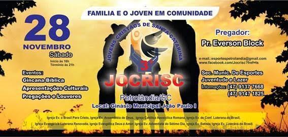 3º Jocrisc será realizado em Petrolândia