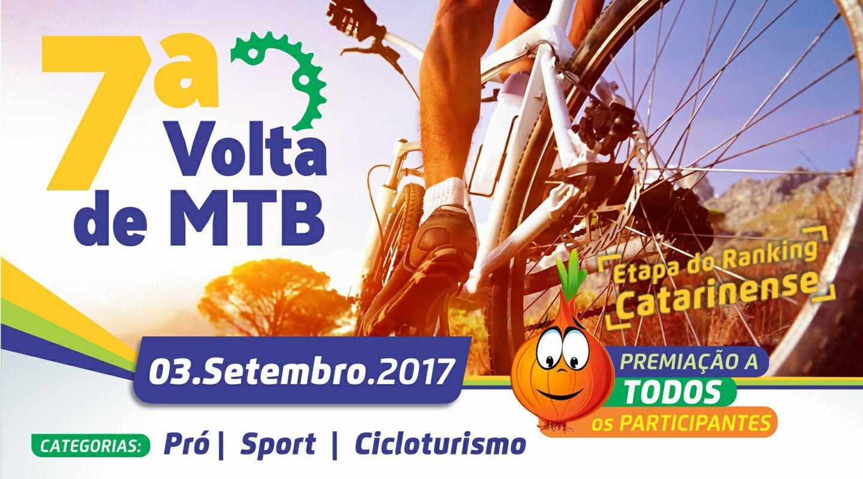 7ª Volta de Mountain Bike de Ituporanga reunirá atletas de todo o Estado